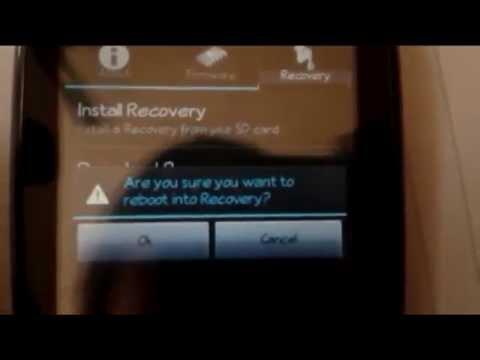 Instalar custom Recovery Zte n720