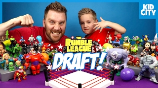 Super Hero Toys Shake Rumble DRAFT 6 - The LEGO Batman Movie, Angry Birds, Pokemon & Sonic | KIDCITY