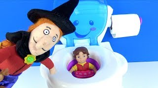 Heidi tuvalette Tatl Cad hokus pokus yapnca Haydi