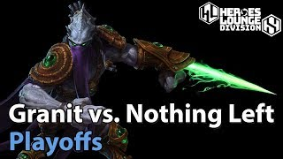 ► Heroes of the Storm: Granit Gaming vs. Nothing Left - Division S Playoffs