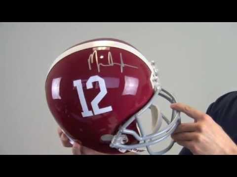 Mark Ingram Signed Alabama Crimson Tide Helmet - Replica - PSA/DNA