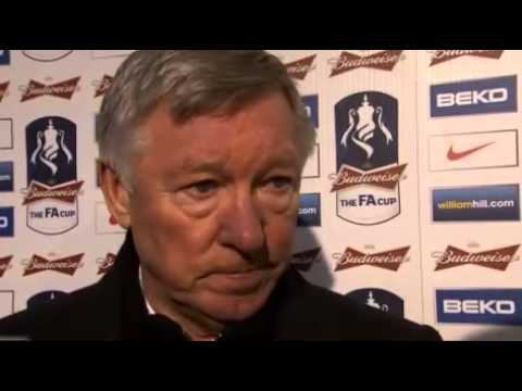 Chelsea 2-2 Manchester United Alex Furguson Interview 10-3-13
