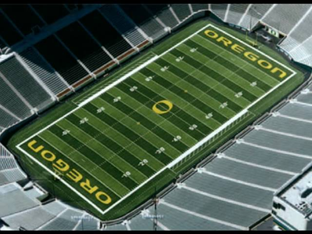 Green and Yellow - Oregon Football Remix