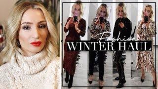 WINTER FASHION HAUL DEZEMBER 2018 - Primark, Zara, H&M, Bershka
