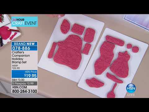 HSN | Crafter's Companion 10.03.2017 - 10 AM
