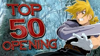TOP 50 Opening Anime