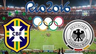 Brasil x Alemanha - 20/08/2016 | Final Jogos Olímpicos Rio 2016 - Futebol Masculino [PES 2016]