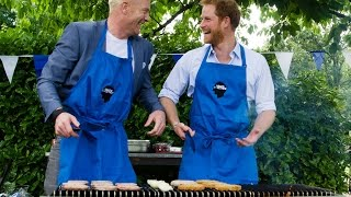 Prince Harry hosts a Heads Together BBQ
