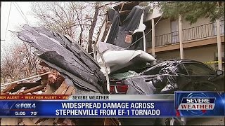 Tornadoes hit Stephenville, Tolar