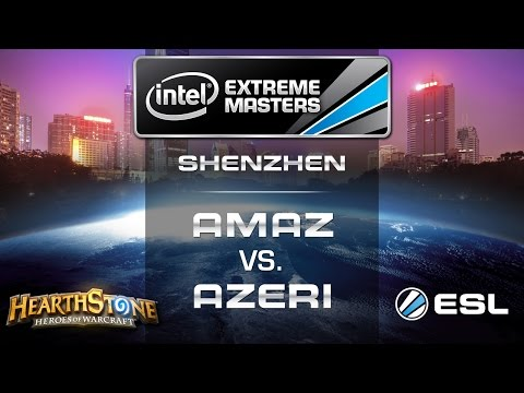 Azeri vs. Amaz - Grand Final - IEM Shenzhen - Hearthstone