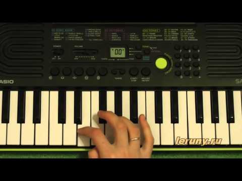 Видео как научиться играть на пианино