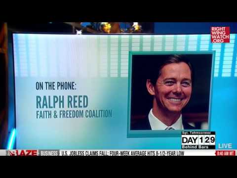 RWW News: Ralph Reed: There's A 'War On Faith Being Waged Here In America'