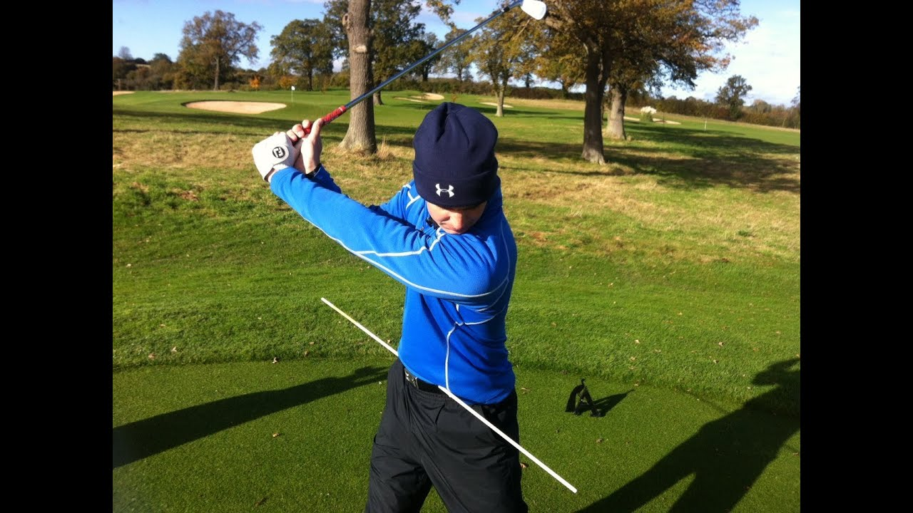 The Correct Hip Movement In The Golf Swing Youtube