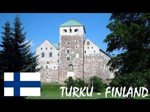 Summer in Turku in Finland tourism video - matkailu Turku Åbo Suomi - Turun kesä & matkailu