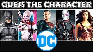 """Guess the Character """"DC"""" (By Silhouette) 