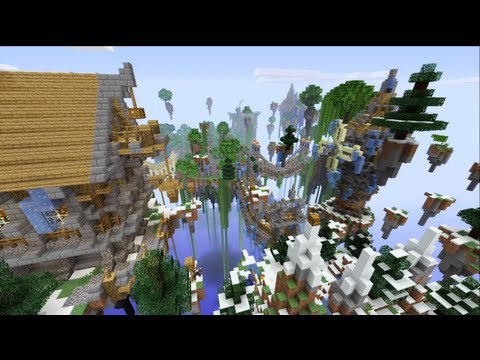 Minecraft Xbox - Floating Island Hunger Games - Round 2