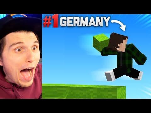 Paluten REAGIERT auf Ich SPIELE mit dem schnellsten Minecraft Bridger Deutschlands