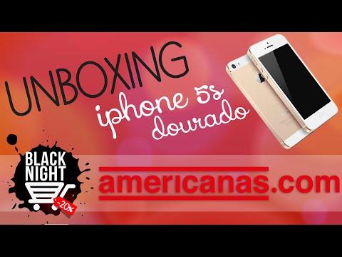 UNBOXING Lojas Americanas - Iphone 5s Dourado 16g | Intimidade Tímida