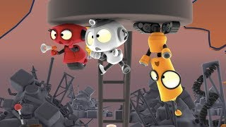 Junkyard Repairs | Rob the Robot | Cartoon Animated Series