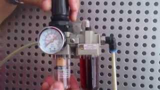 Pnömatik Sistemlerde Şartlandırıcı (CEV - Coşkunöz MTAL) Filtre, Regülatör, Yağlayıcı, FRY