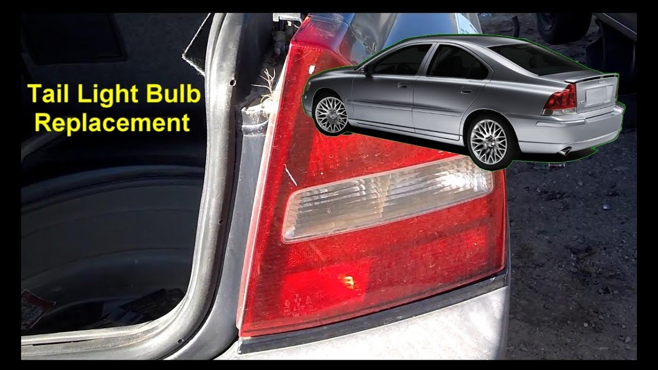 Tail Light Bulb Replacement, Volvo S80 - Auto Repair Series - YouTube
