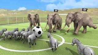 Beast Battle Simulator Tập 1: Trận chiến của các loài động vật