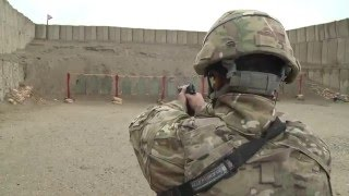 Bagram Defenders Stay Sharp on the Range