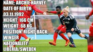 ARCHIE HARVEY - HIGHLIGHTS