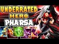UNDERRATED HERO [by Arteeerr] PHARSA BUILD & GAMEPLAY MOBILE LEGENDS Mp3