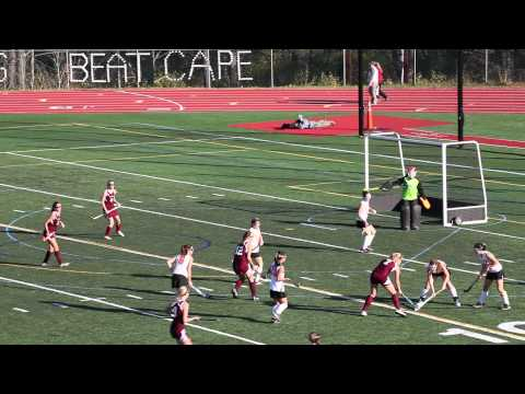 Foxcroft Academy vs North Yarmouth Academy (2013 Class C Field Hockey State Championship)