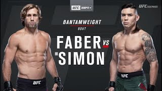 UFC on ESPN+ 13: Urijah Faber vs Ricky Simon Recap