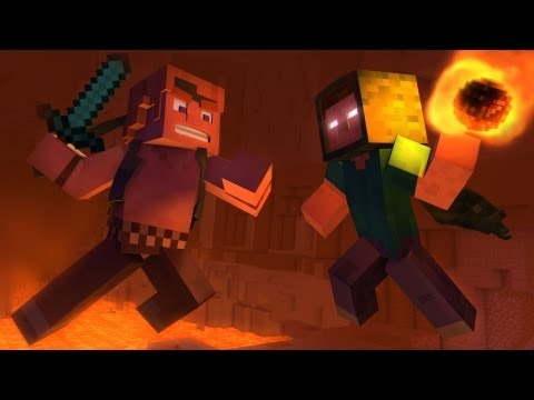 Take Back the Night - A Minecraft Original Music Video