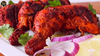 তান্দুরি চিকেন | Tandoori Chicken in Oven | Restaurant Style Tandoori Chicken