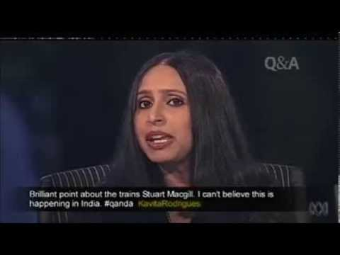 Heated & quite informative discussion over Narendra Modi's conversial role as politician on an Australia very reputed TV show Q & A hosted by Tony Jones on A...
