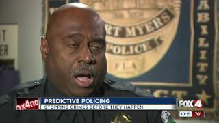 Fort Myers police to use new crime fighting technology.