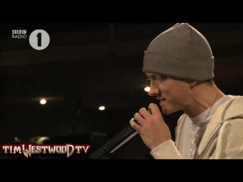 Westwood - *EXCLUSIVE* Eminem freestyle Radio 1 Music Videos