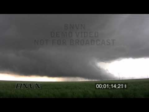 5/25/2010 Wall cloud stock video time lapse footage