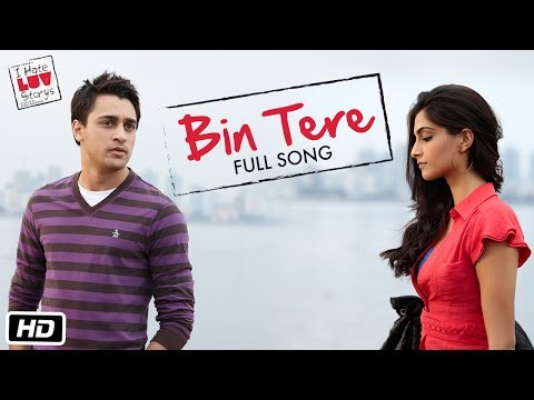I Hate Luv Storys - Bin Tere - Full Song video
