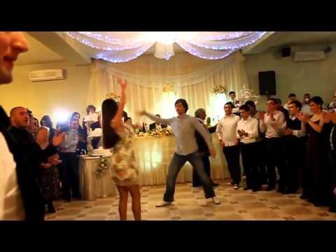 Грузинский танец на свадьбе