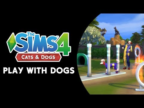 The Sims 4 Cats & Dogs: Play With Dogs Trailer