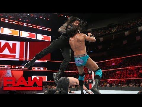 Roman Reigns & Seth Rollins vs. Jinder Mahal & Elias: Raw, June 4, 2018 thumbnail