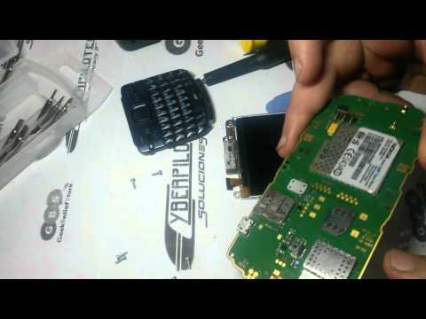 Reparar. Cambiar. Desarmar Nokia C3 (Cambio Display)