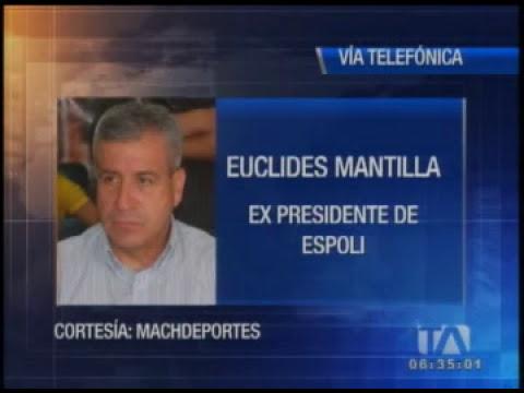 Euclides Mantilla denuncia chantaje de Luis Chiriboga