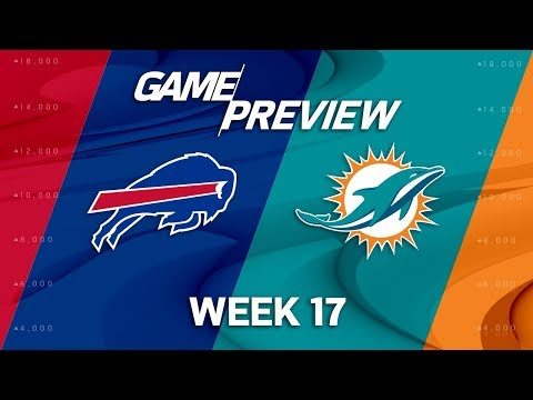 Buffalo Bills vs. Miami Dolphins | NFL Week 17 Game Preview | NFL Total Access