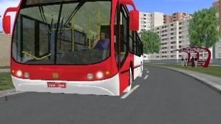 Busscar Urbanuss Pluss no OMSI - Mapa Savoy, linha 712