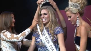 Brooke Skabelund is crowned Miss Utah Teen USA® 2015!