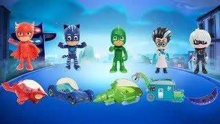 Wrong Vehicles PJ MASKS TOYS for Kids Children Toddlers   Catboy, Gekko, Owlette, Romeo, Luna Girl