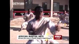 Africans at the Shaolin Temple to Learn Kung Fu