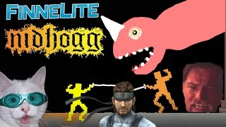 Ridiculous: Nidhogg