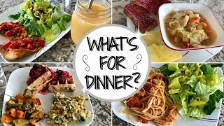 WHAT'S FOR DINNER THIS WEEK :: MEAL INSPIRATION & DINNER IDEAS :: FAMILY OF 5